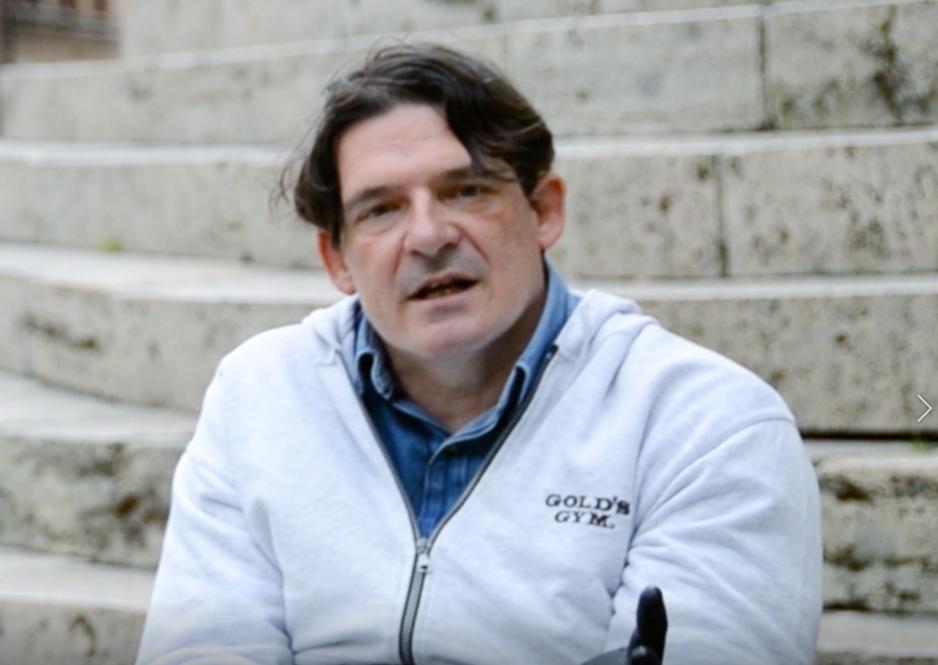 Luca Panichi, lo scalatore in carrozzina